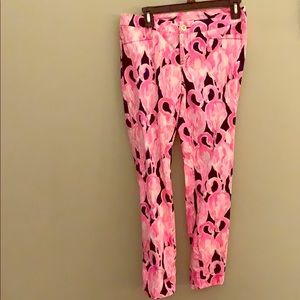 Lilly Pulitzer Via Amor Kelly Skinny Ankle Pant